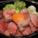 肉タレ屋 - ローストビーフ  中  980円