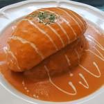 Rutil - オムライス トマトクリームソース