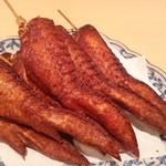 拉麺一匠 DEAD OR ALIVE - これも根強い人気の【串手羽】香ばしくて美味い!