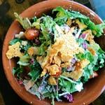 コンシールカフェ・サクラガオカ - 水菜と大根のシーザーサラダ
