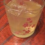 居酒屋 しんせい  - メロン梅酒(再訪)