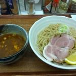 忍八 - つけ麺(大盛り)@850円