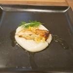 シャトン - のどぐろのポアレと菊芋のピューレ