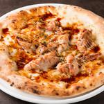照り焼きチキンのマヨネーズピザ