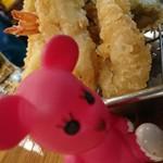地魚屋台 とっつぁん - 天ぷら&モモちゃん♪