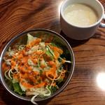 63669014 - サラダ&スープ