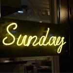 SUNDAY - シンプルな店名です