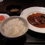 一 - 牛照り焼きステーキ