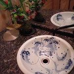 うさぎ屋 - 【2011.1】 洗面所にもうさぎが
