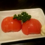 八起 - 冷やしトマト:390円