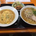 Rokuban - ミニ天津飯定食850円