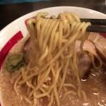 63673081 - 【2017年02月】らーめんの麺アップ、チョット柔目の印象でした。