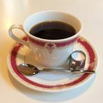 玉一総本店 - 「ホットコーヒー」(330円)。