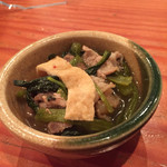 旬魚季菜 とと桜 - お通し 優しい味