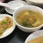 63675894 - スープがほぼあん状態で、のみにくい。