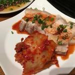 好ちゃん - 茹で豚とキムチ