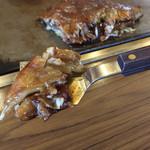 はやしのお好み焼 - はやしのお好み焼(徳島県徳島市南内町)豆天玉
