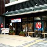 肉が旨いカフェ NICKSTOCK - 店舗外観