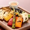 季節のグリル野菜