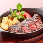 ステーキ&ビア ビストロ・パプリカ - 牛サガリステーキ