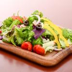 新鮮野菜たっぷりビストロサラダ