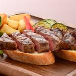 ステーキ&ビア ビストロ・パプリカ - 牛ヒレステーキ