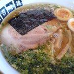 天日地鶏 - ラーメン醤油+地鶏煮玉子