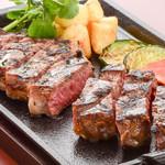 ステーキ&ビア ビストロ・パプリカ - ドライエイジング40日間熟成リブロースステーキ