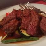 kobas - ハラミのステーキ