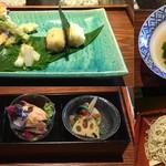 蕎麦食処 六根亭 - コース一例