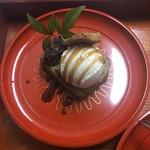 蕎麦食処 六根亭 - デザート一例