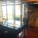 蕎麦食処 六根亭 - お席からの景色もたのしめます