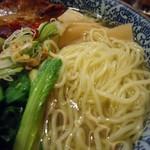 麺屋 空海 - 麺接写。