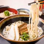首里殿内 - 料理写真:沖縄そば定食