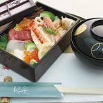 和楽 - お昼のおすすめ:上ちらし寿司