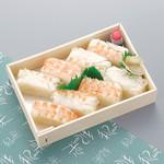 和楽 - お持ち帰り:海老箱寿司