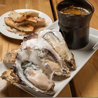 ●BARBARPROPECHOの牡蠣●種類豊富な牡蠣料理♪