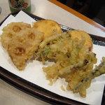 四國路 - 野菜の天ぷら