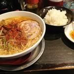 勢拉 - ラーメン(大盛・メンマトッピング)