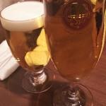 63693214 - 旨い生ビール 580円