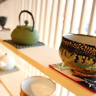 日本茶を堪能できるカフェ