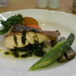 レストラン ル・ブラン - 日替わりランチ(例)