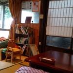 おかしの家 パピル - カフェスペース