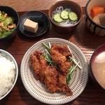 トリモ - お昼の定食(800円)
