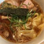 姫路麺哲 - 醤油雲呑 麺