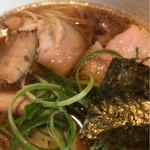 姫路麺哲 - チャーシュー ペラいけども まずまず