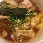 姫路麺哲 - 醤油雲呑