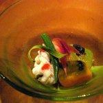 637387 - ハモと夏野菜の涼鉢