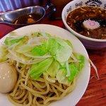 NOODLE SHOP 大金星 - 鯖カレーつけ麺 1