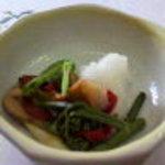 サガミ - ちゃんこ鍋コースの小鉢